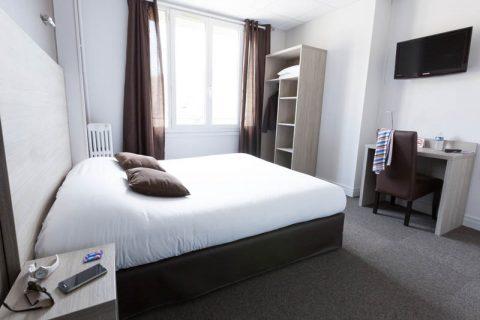 Chambre double confort lit double