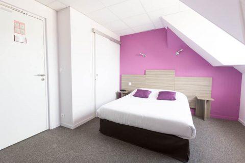 Hotel Chateau Caen Chambre double vue cote