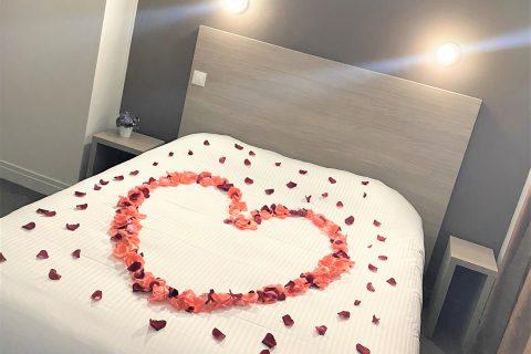 Chambre spéciale Saint valentin