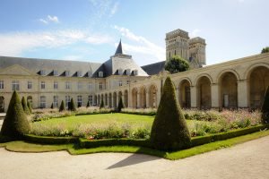 Ladies' Abbey in Caen in Normandy