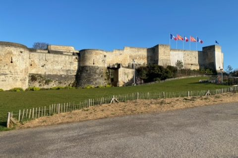 chateau de caen en centre ville