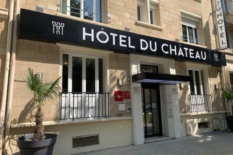 hotel chateau caen facade